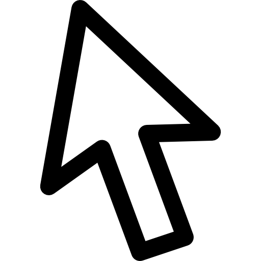 Mouse arrow icon png. Pointer free arrows icons
