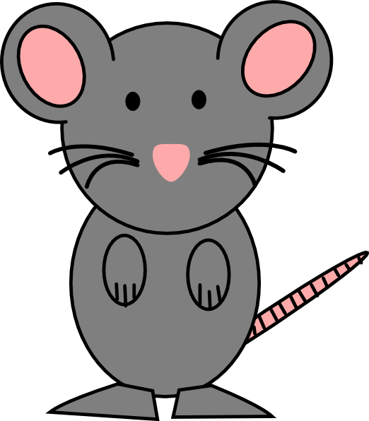 Mouse clip cute. Cartoon clipart