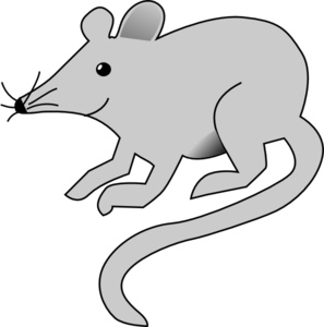 Mouse svg simple. Gray clip art at