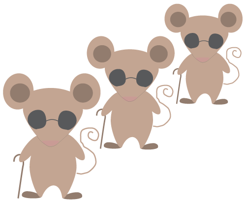 Mouse clip three. Mice svg free