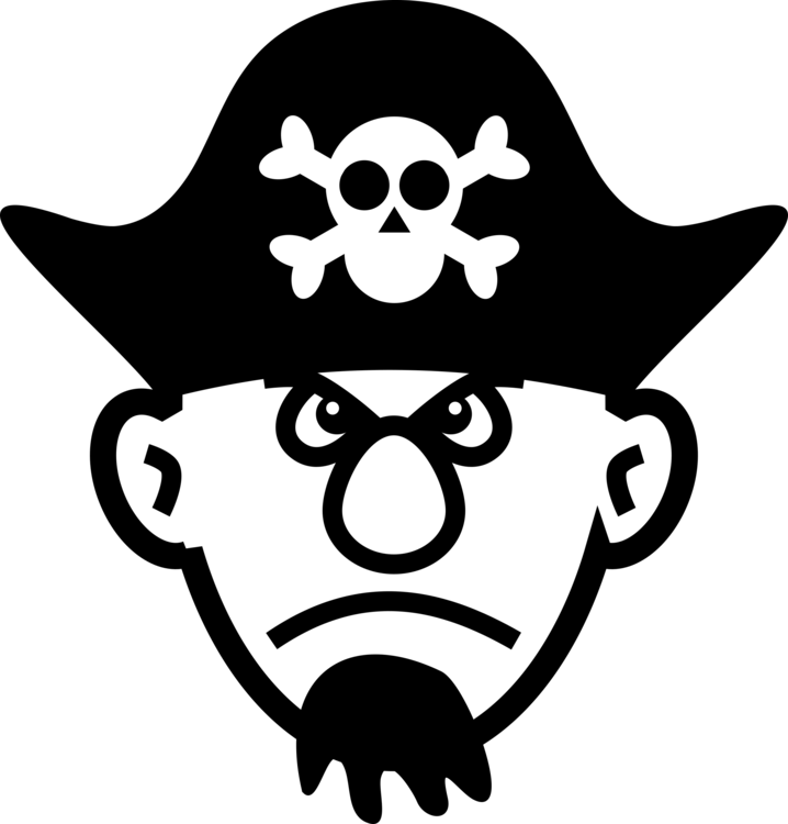 Mouse clipart angry. Piracy hat tricorne headgear