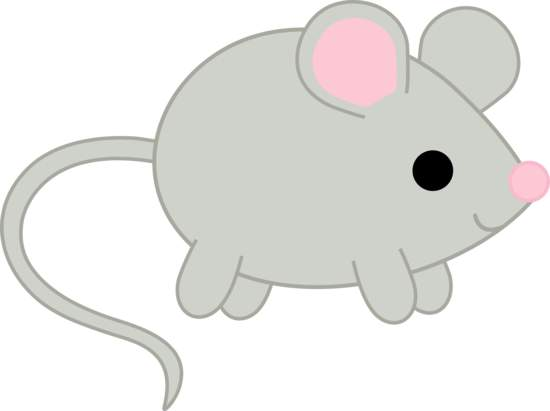 Mouse clipart little mouse.