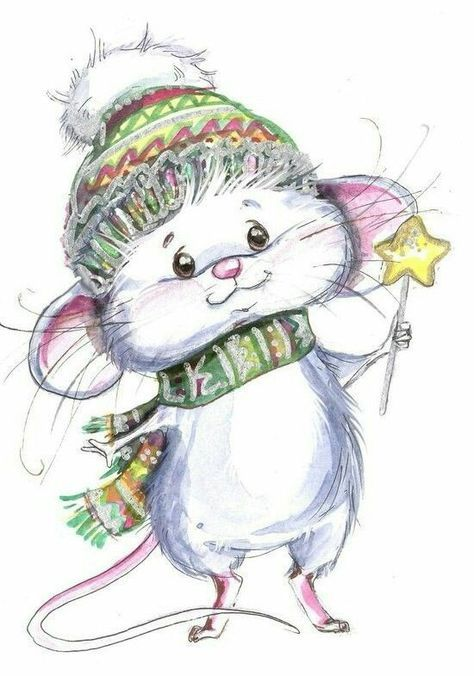 Mouse clipart little mouse. Pinterest mice christmas art