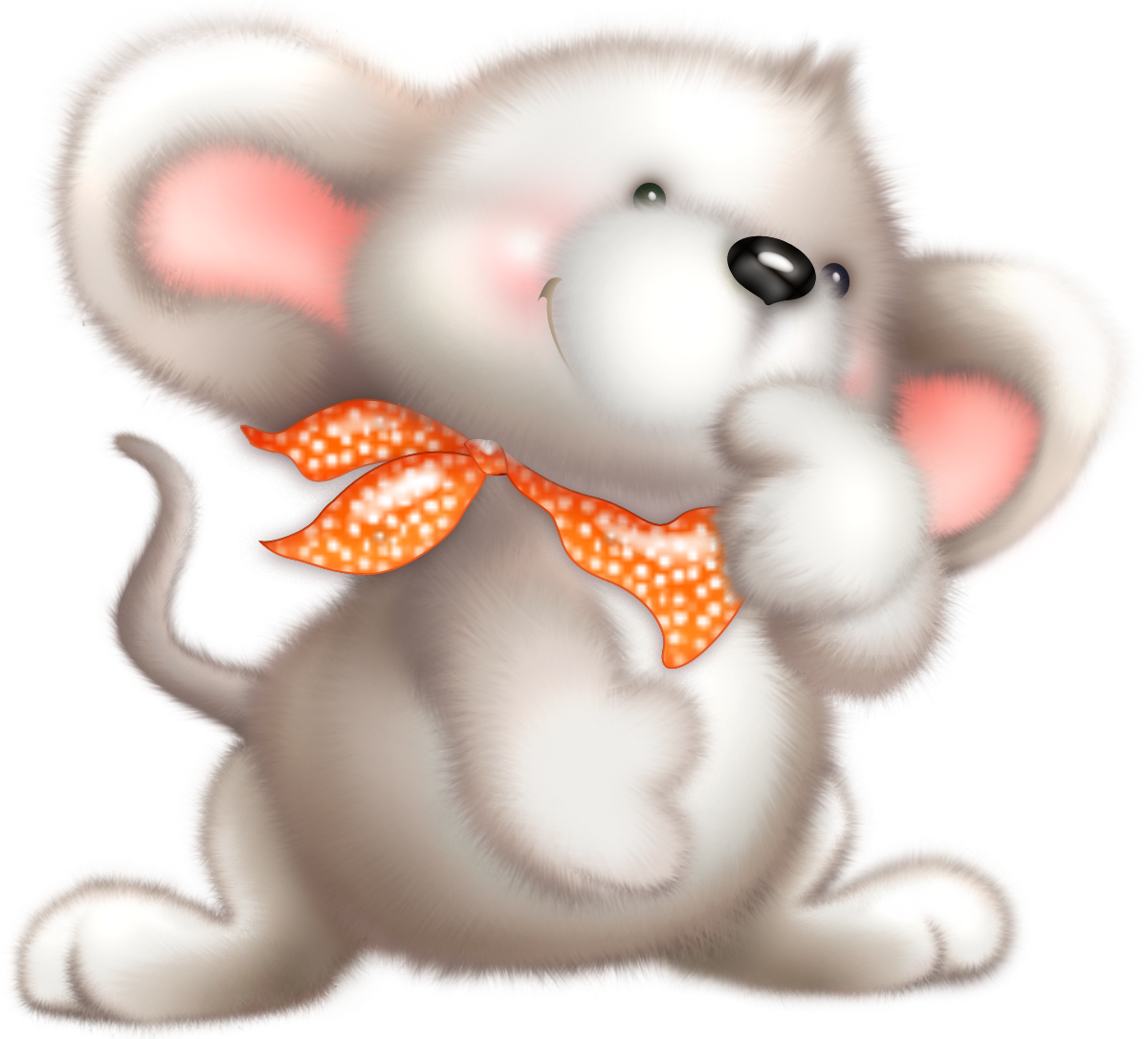 Mouse clipart little mouse. Cute white gallery yopriceville