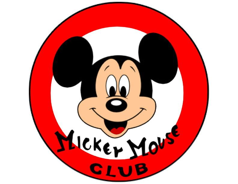 Mouse clipart logo. Part of mickey panda