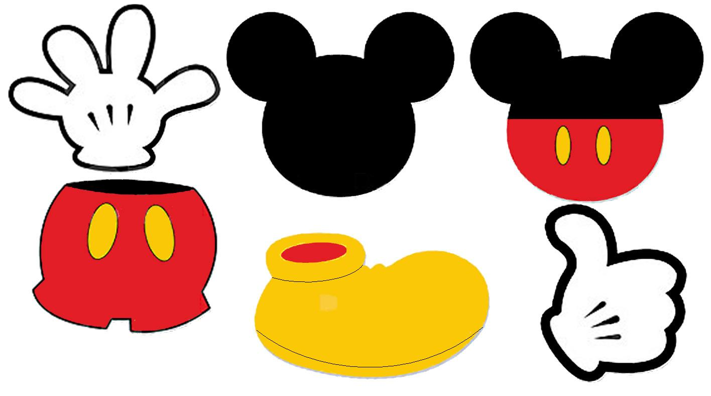 Mouse clipart logo. Mickey ears silhouette clip