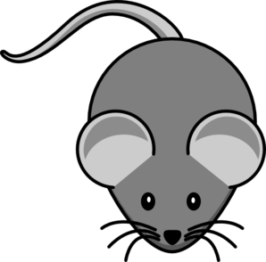 Mouse clipart simple.