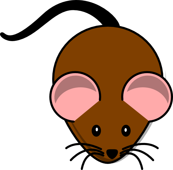 Armadillo clipart cute. Simple cartoon mouse clip