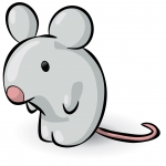Mouse clipart tiny mouse. Clip art mice views