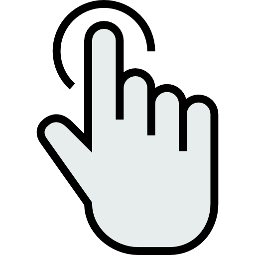 Mouse finger png. Gestures hands and clicker