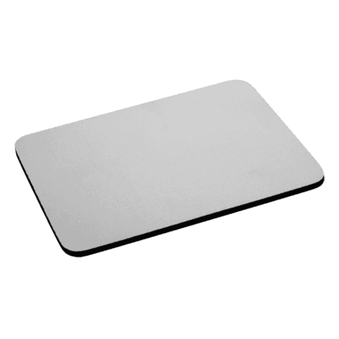 Mouse pad png. Sublimation blank fabric with