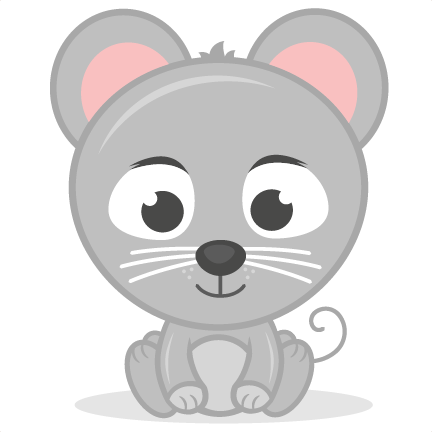 Mouse svg cute. Baby cutting file cut