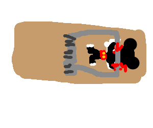Mousetrap drawing