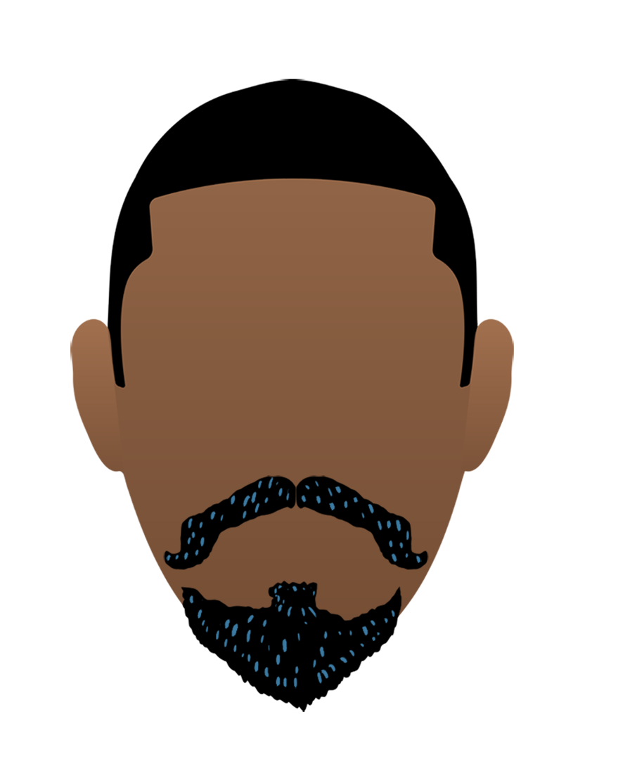 Moustache clipart goatee beard. How to shave off