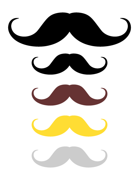 Mustache clipart party prop. Pin by muse printables