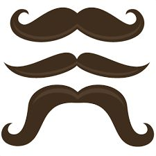 Mustache clipart brown. Image result for handlebar