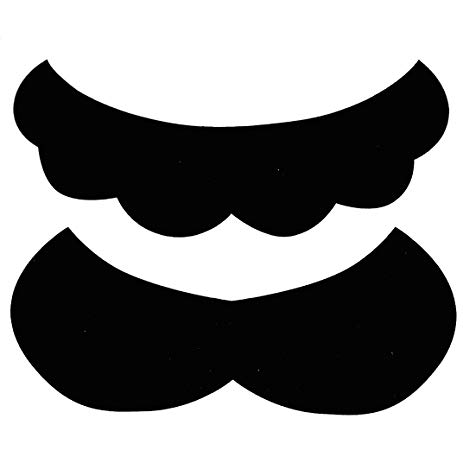 Moustache clipart super mario. Amazon com piece mustache