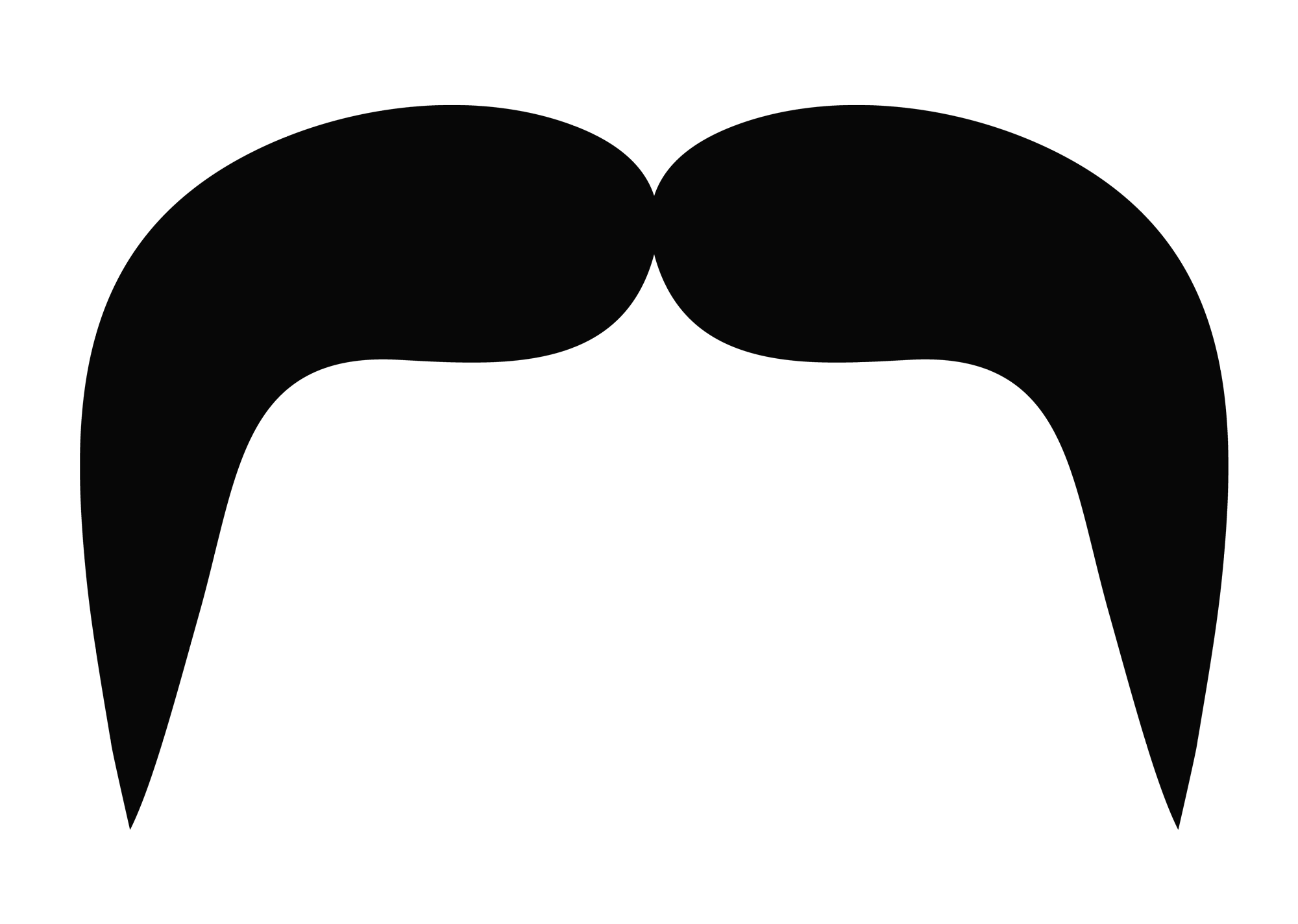 Moustache png. Silhouette at getdrawings com