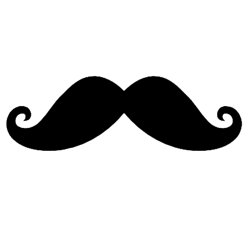 Moustache png file. By spoonswagging on deviantart