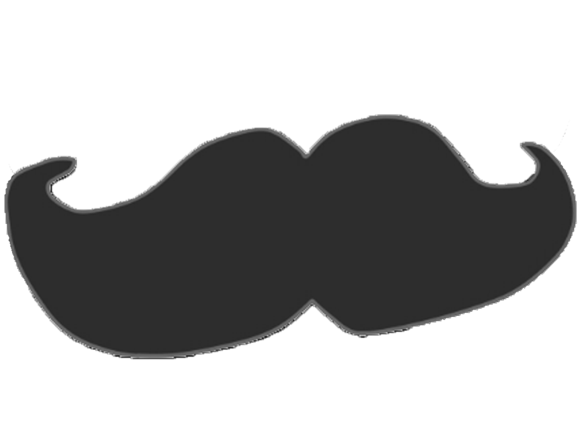 Moustache silhouette png. Image body object shows