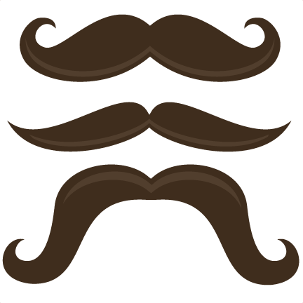 Moustache svg. Mustache mania files svgs