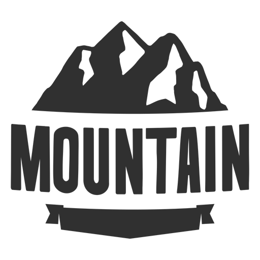 Moutain vector vintage. Mountain logo transparent png