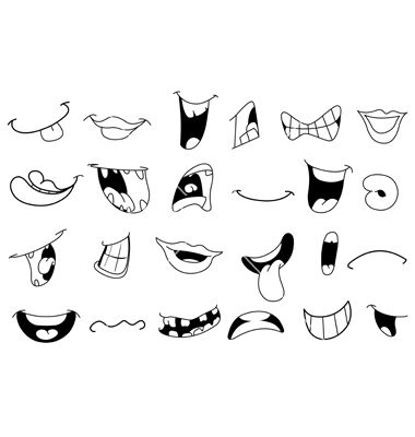Mouth clipart cartooning. Best cartoon mouthes