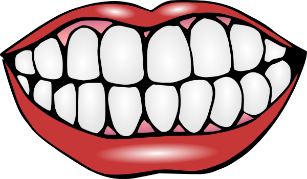 Mouth clipart clean mouth. Cartoon clip art free