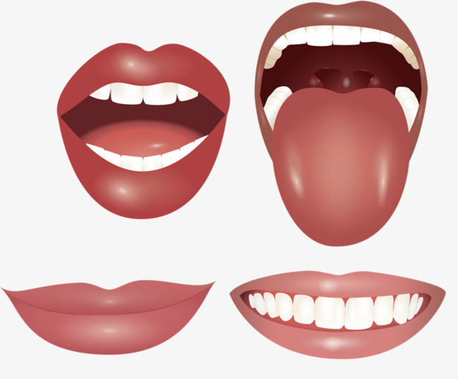Mouth clipart dientes. Tongue teeth oral png