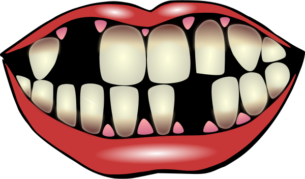 Mouth clipart jaw. Clip art fans clipartandscrap
