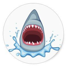 Mouth clipart jaw. Free shark room pinterest
