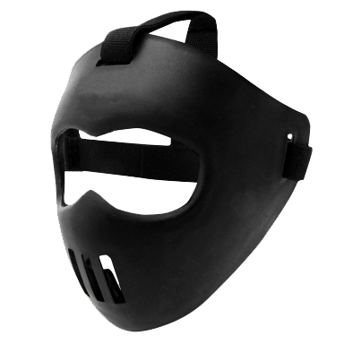 Mouth mask png. Face the hockey guy
