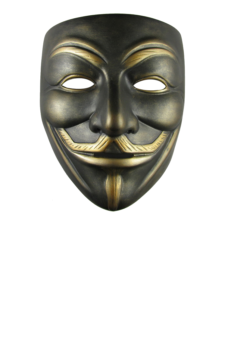 Mouth mask png. Anonymous image web icons