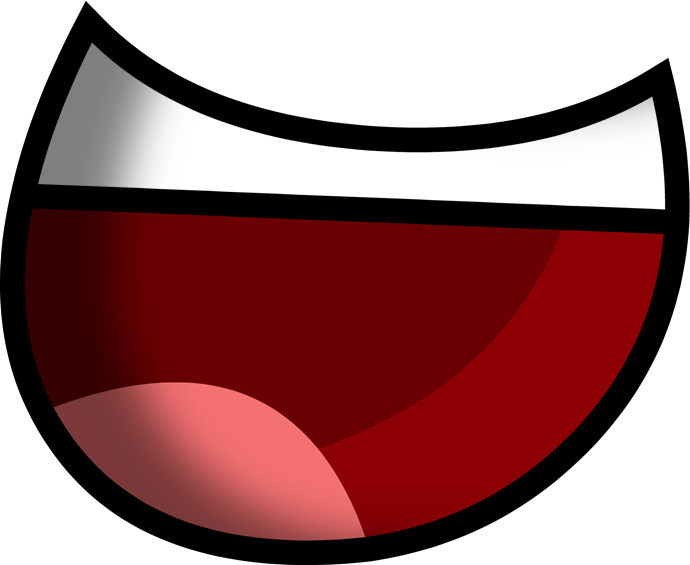 Mouth open png. Image big teathed shaded