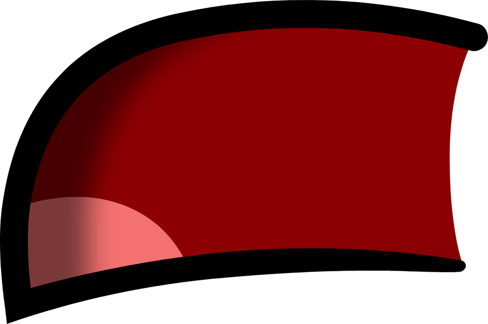 Mouth open png. Image sad shaded object