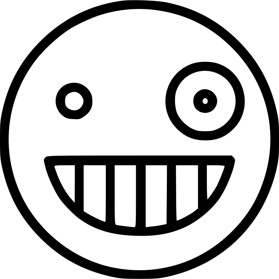 Mouth svg crazy. Png icon free download