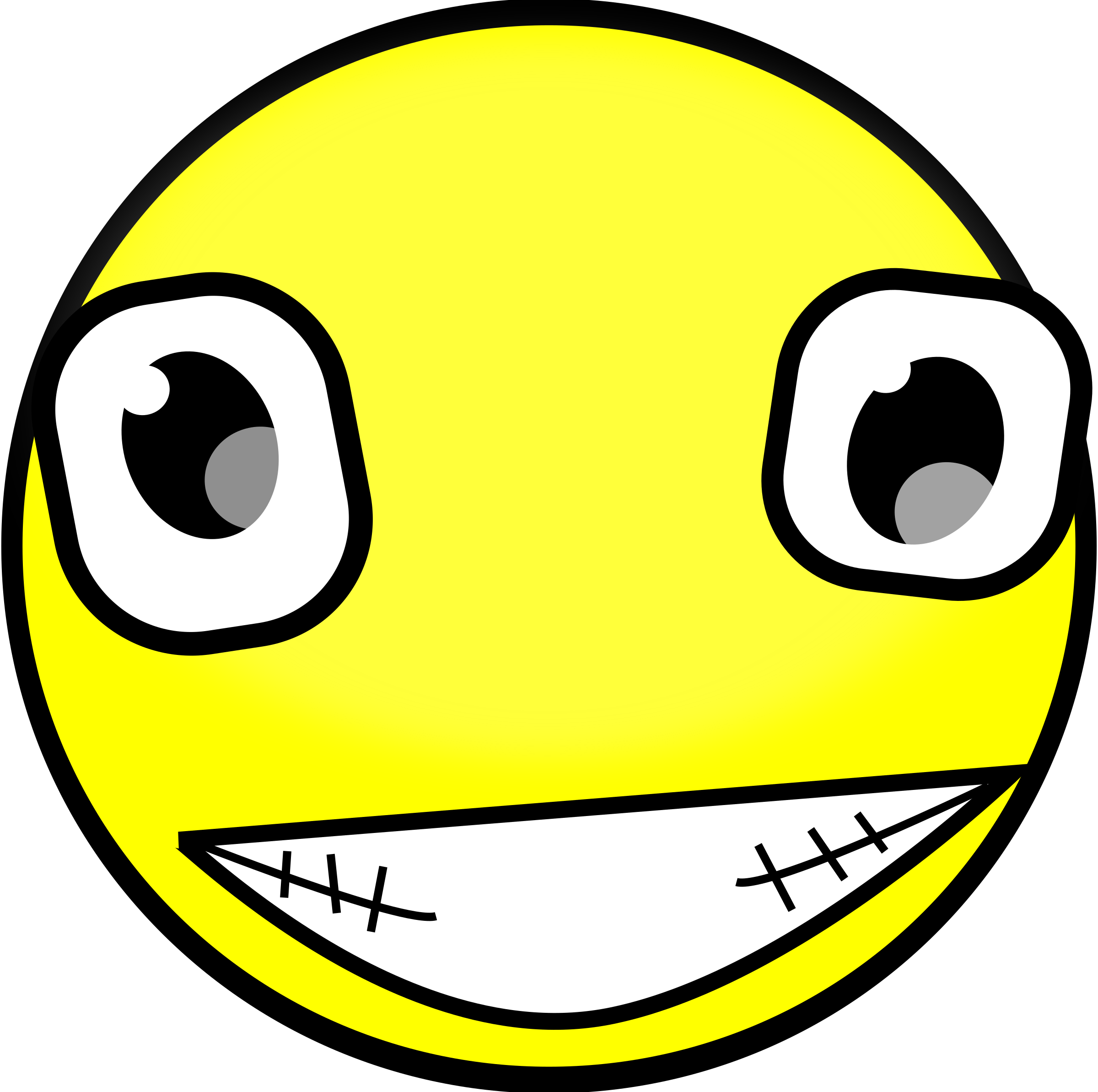 Mouth svg creepy. Clipart buddy icon big