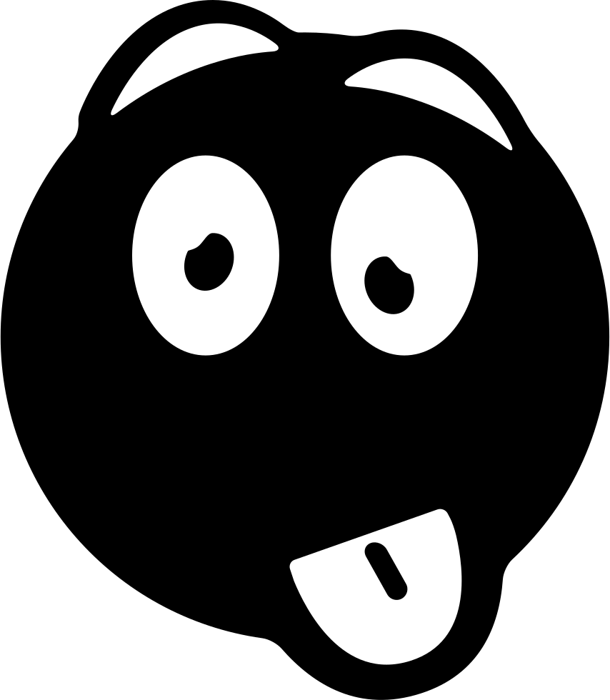 Mouth svg goofy. Face png icon free