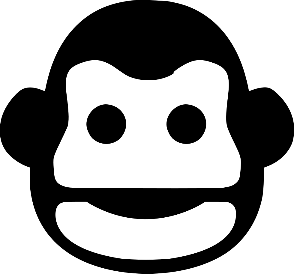 Mouth svg kid. Monkey smile png icon