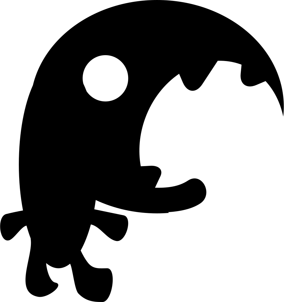 Mouth svg monster's. Big monster png icon