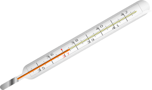 Mouth thermometer png. Human body temperature fever