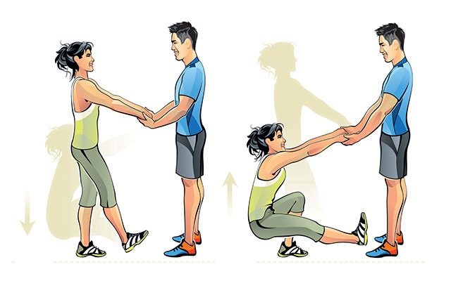 Movement clipart leg exercise. The workout pair up