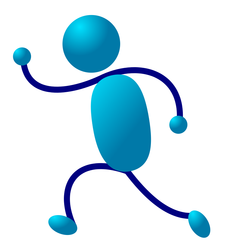 Movement clipart people. Free stick man download