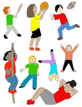 Movement clipart physically. Best pe rocks