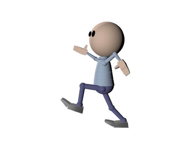 Steps clipart animation. Free person running download