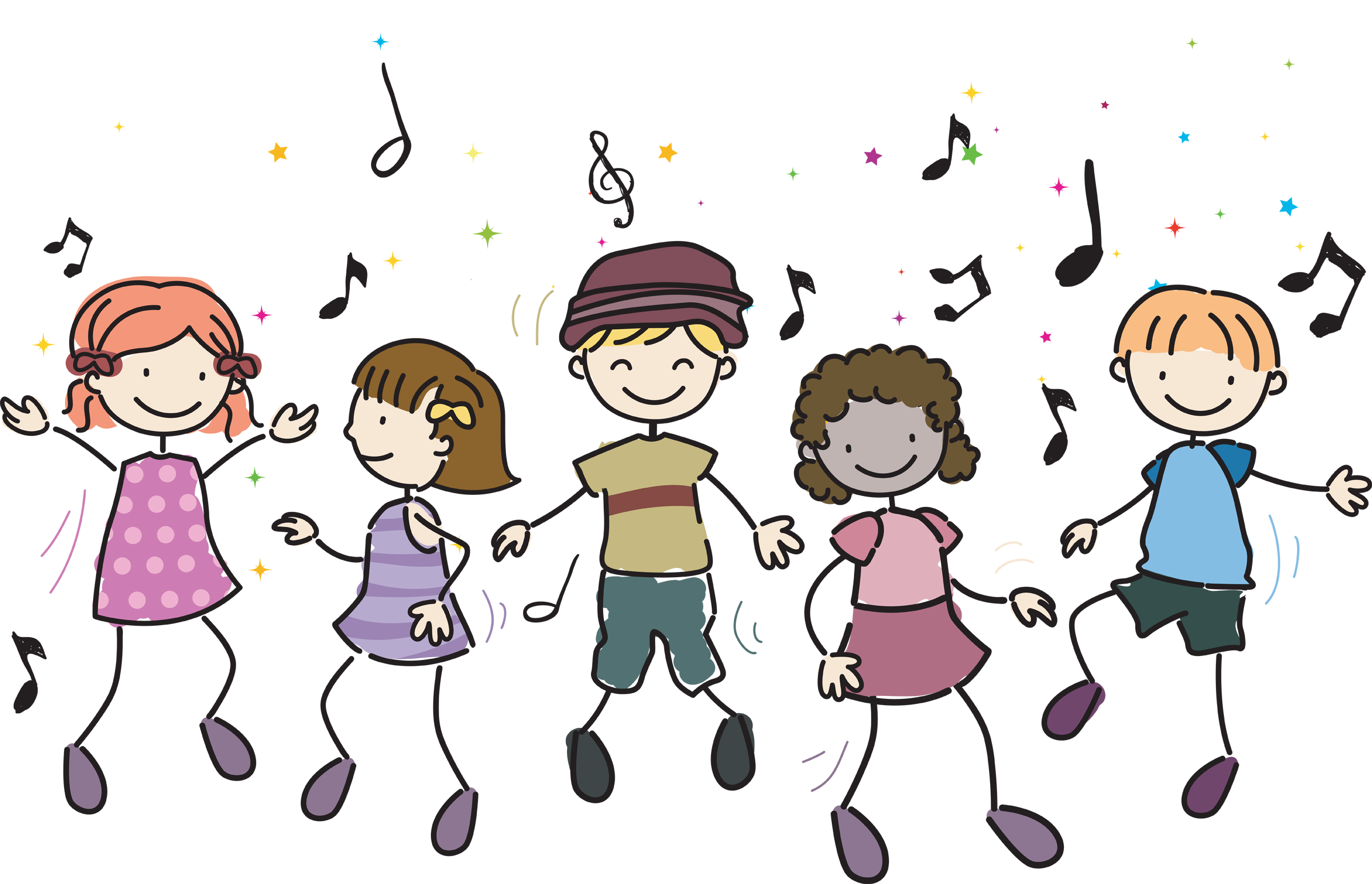 Movement clipart singer dancer. We are moving and