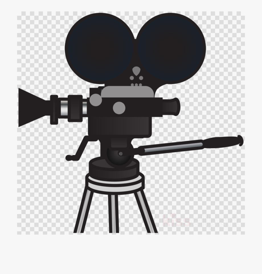 Movie cartoon. Film camera clipart png