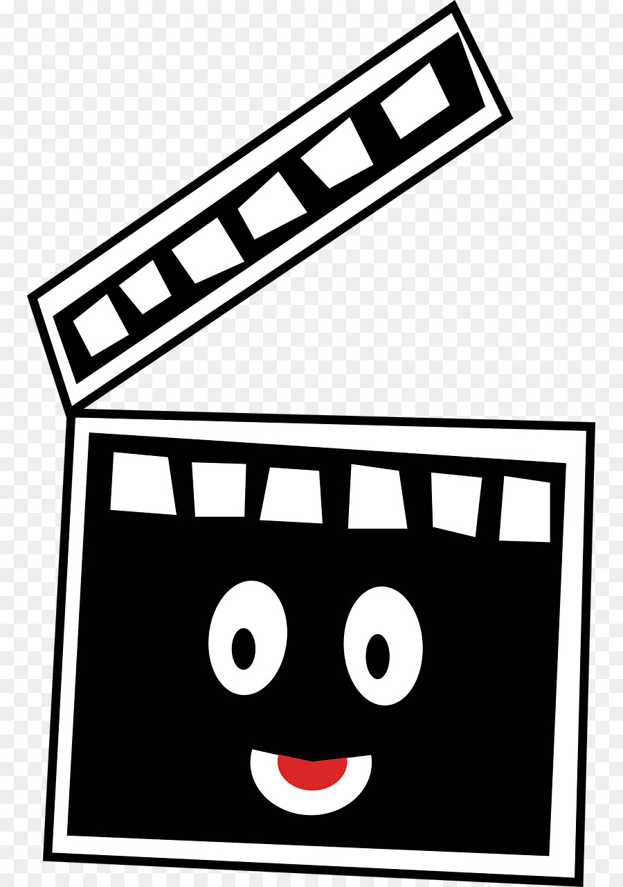 Movie cartoon. Icon clipart film cinema