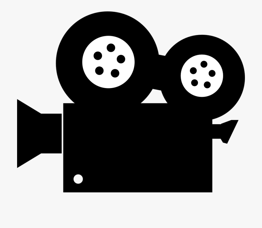 Movie cartoon. See clipart watch icon