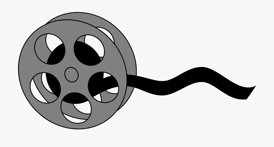 Movie cartoon. Film strip clipart reel